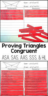 my proofs proving triangles congruent proof activity geometry proofs