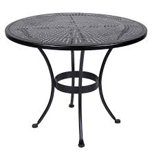 36 inch round dining table ow lee bistro inch round stamped metal dining table with remodel 36 inch round dining table