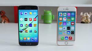 samsung galaxy s6 vs iphone 6. kali ini futureloka akan membahas tentang hp iphone 6s dengan samsung galaxy s6 edge. ngomongin masalah teknologi memang tidak ada habisnya apalagi vs iphone 6