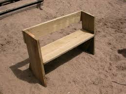 Small Picture Easy Beach or Garden Bench Out of Scrap Wood Scrap Woods and Beach