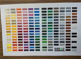 Ral Chart Ral Colour Chart