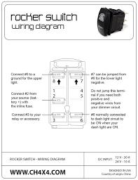 rocker switch wiring diagram 4 wiring diagram meta