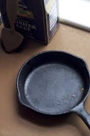 Get right to it: Clean the skillet immediately after use, while it is still  hot or warm. Don't soak the pan or leave it in the sink because it may rust.