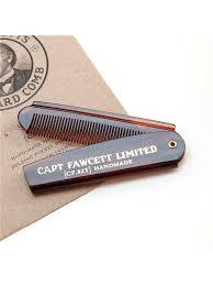 Складная расческа для <b>бороды</b> CAPTAIN FAWCETT 4801756 в ...