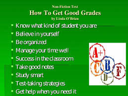 How To Make Good Grades Making The Grade Getting Better Grades In School Ppt Powerpoint