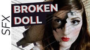 ed broken porcelain doll makeup tutorial sfx