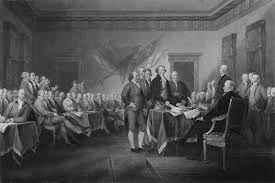 declaration of independence mixed a signing the declaration of independence by war is