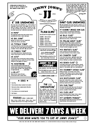 jimmy johns menu study guide. Exellent Guide Box Lunch Menu Template  Jimmy Johnu0027s With Johns Study Guide Pinterest