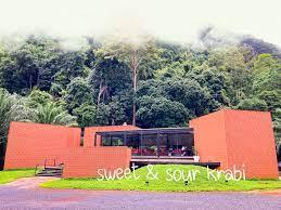 Sweet & Sour Krabi สวีท แอนด์ ซาว ค่าเฟ่อิฐสีส้มกลางหุบเขา: จังหวัดกระบี่ -  ภาคใต้ : เที่ยวเมืองไทย 360 องศา