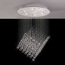 stairwell lighting. diyas colorado 7 light crystal drop pendant il30783 stairwell lighting