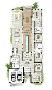 modern house plans with photos contemporary home designs modern narrow block house designs floor plan four