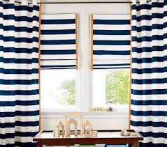 rugby stripe window coverings from gasp pottery barn kids