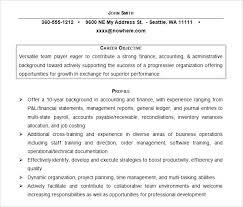 Sample Resume Accountant – Resume Bank