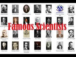 Inventors And Their Inventions Chart Famous Scientists And Their Inventions