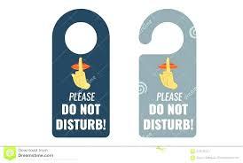 Door Handle Sign Template Large Image For Door Handle Signs Do Not