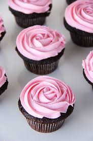 chocolate cupcakes with pink icing recipe. Wonderful Recipe Chocolate Cupcakes With A Chardonnay Buttercream Frosting And Just In Time  For Valentineu0027s Day And With Pink Icing Recipe 0