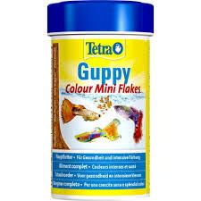 <b>Tetra Guppy</b> Colour Mini Flakes <b>корм</b> в виде мини-хлопьев для ...