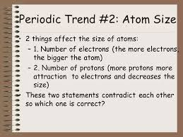 The Periodic Table and Ionic Bonding: Part 3-Periodic Table Trends ...