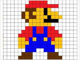 Pixel Character Template 30 Pixel Art Templates Free Premium Templates