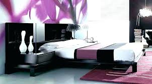 Black White Purple Bedroom Ideas