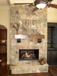 Tennessee Fieldstone Fireplace
