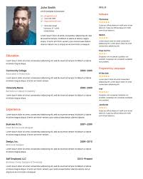Resume Bulder Resume Builder WordPress Plugins 4