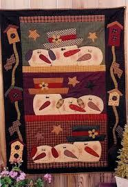 Simple Christmas ideas. Would be quick to make! … | Pinteres… & Free Primitive Quilt Patterns | Primitive Crafts Americana Folk Art &  Country Primitive Decor at Adamdwight.com