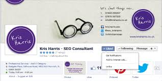tips to help grow your facebook page martin reynolds image of a screenshot on how to add to interests list on facebook
