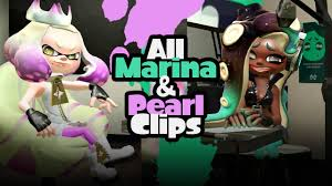Splatoon 2 | All Marina and Pearl Clips ...