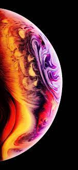 iPhone XS bubble wallpaper post ...
