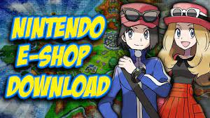 Pokemon X and Y - How to download from Nintendo E-shop - YouTube
