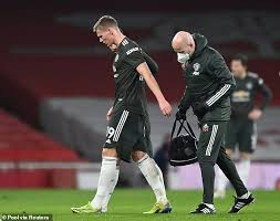 A normal haircut, no tattoos, no big cars, no big watches, humble kid, arrive in the. Manchester United Midfielder Scott Mctominay Forced Off In The 37th Minute Of Arsenal Clash