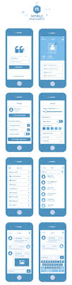 Iphone Form Design Mobile Wireframe Kit Psd Mobile Ui Ux Inspiration