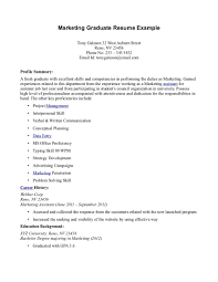 Sample Resume For Fresh Graduate Sample Recent Graduate Resume