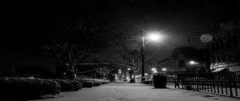 Winter Night HD wallpaper