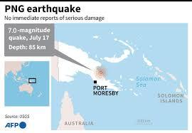 The joint australian tsunami warning centre is operated by the australian bureau of meteorology and geoscience australia. Quake Of Magnitude 7 0 Hits Papua New Guinea Tsunami Risk Fades Asia News China Daily