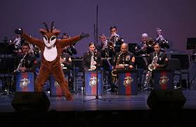 rudolph joins marine corps band new orleans on se at saenger theater in new orleans on