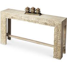 white washed mango wood. Modren White Butler Specialty Artifacts Console Table In White Recycled Mango Wood Throughout Washed
