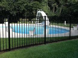 how to install aluminum fence aluminum swimming poo fence installing aluminum fence on uneven ground