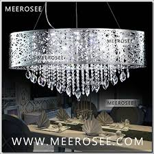 oval shape modern led crystal chandelier pendant light fixture lighting ideas