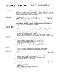 Resume Template College Student Impressive Current College Student Resume Sample Momogicars