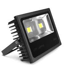 led outdoor flood light super bright led flood light outdoor lfl16 80w 100w black aluminum emergency