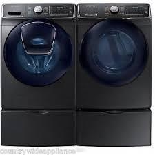 samsung washer and dryer pedestals.  Washer Image Is Loading SamsungBlackStainlessWasherGasDryerandPedestals Intended Samsung Washer And Dryer Pedestals 7