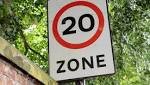 20mph limits would 'reclaim streets from the motor car'