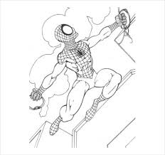 Web slinging spider man coloring page. 19 Spider Man Coloring Pages Pdf Psd Free Premium Templates
