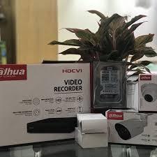 Trọn bộ 2 mắt camera dahua giám sát full HD 1080 kèm ổ cứng 500gb hàng  chính hãng - Hệ thống camera giám sát Nhãn hàng Dahua