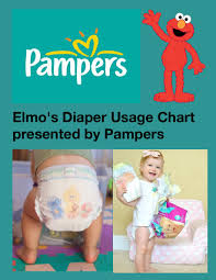Elmos Diaper Usage Chart Book 826524 Bookemon