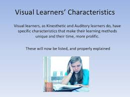 visual learning styles essay