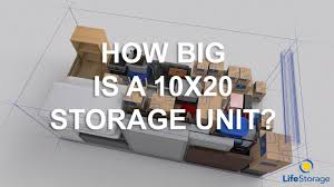 how to pick the best storage unit size