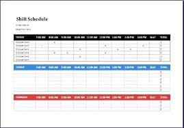 Microsoft Employee Schedule Template Stagingusasport Info